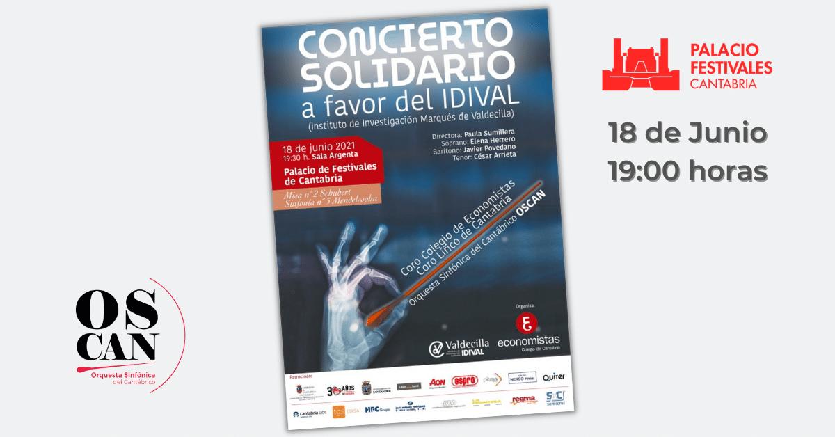 OSCAN - Orquesta Sinfónica del Cantábrico - Concierto Solidario en favor del IDIVAL